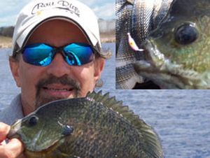 Joe Puccio fishing pro and co-owner of Bait Rigs tackle.
